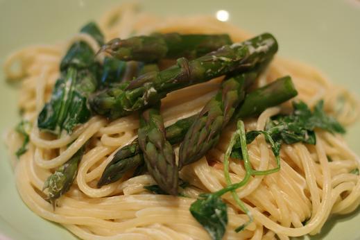 Asparagus Spaghetti | Dinner Diary