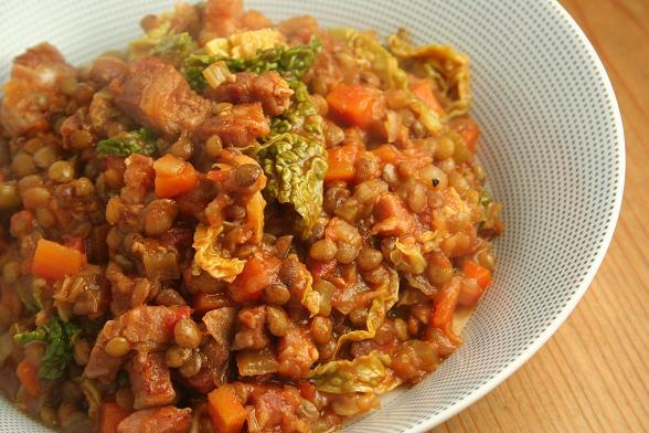 bacon-and-lentil-soup