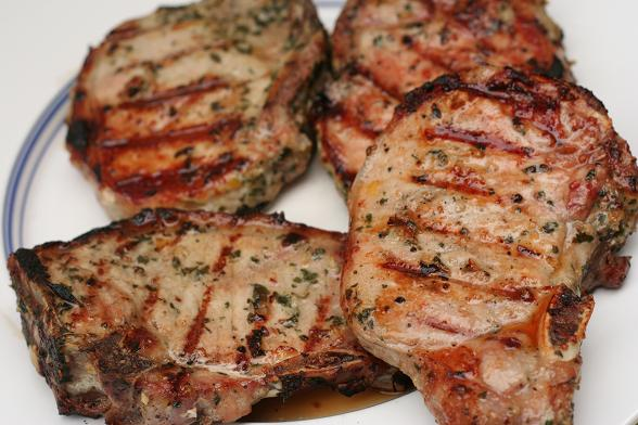 Barbecued Pork Chops | Dinner Diary