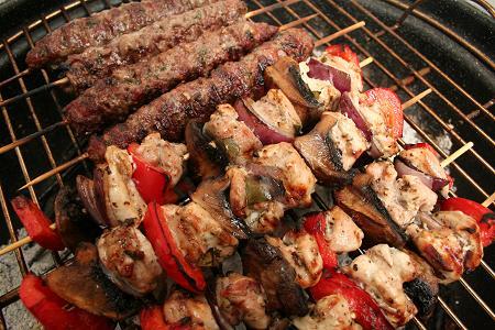 Barbecue – Lamb Kofta and Chicken Kebabs | Dinner Diary