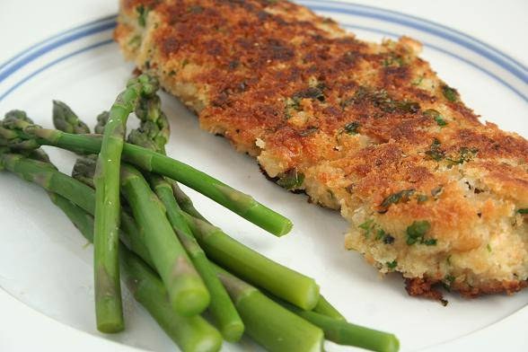 breaded-veal-with-asparagus