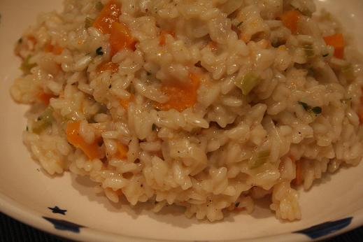Butternut and Parsnip Risotto | Dinner Diary