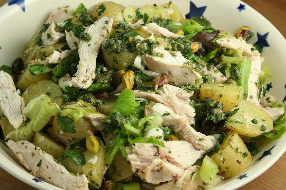 chicken-potato-salsa-verde-salad