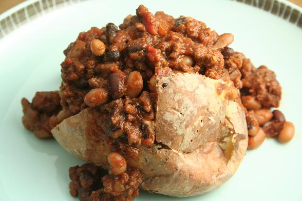 chilli-on-potato