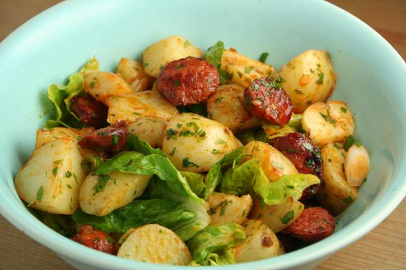 chorizo-and-potato-salad