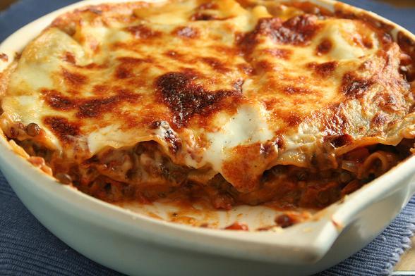 lentil-lasagne