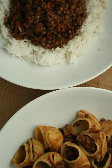 lentil-with-rice-and-pasta