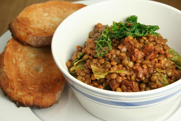 lentils-chorizo-and-cabbage