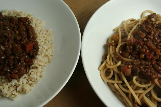 lentils_on_spaghetti_and_rice