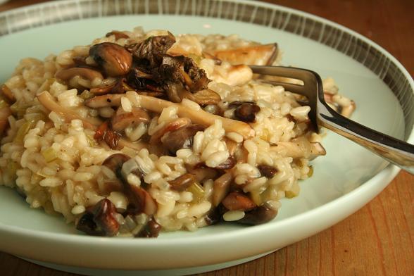 mushroom-risotto