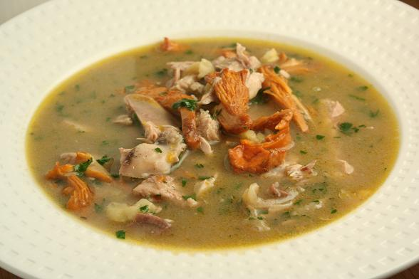 pheasant-and-chanterelle-soup