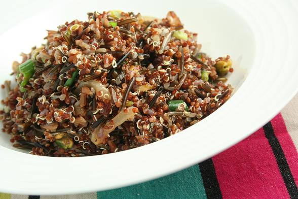 Ottolenghi Red Rice And Quinoa Recipes — Dishmaps