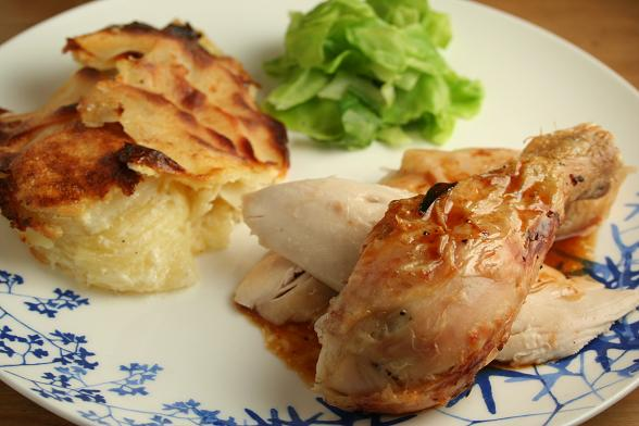 roast-chicken-and-jerusalem-artichoke-dauphinoise