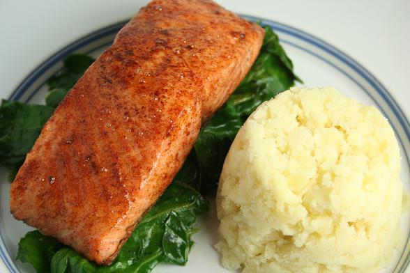 salmon-and-horseradish-mash