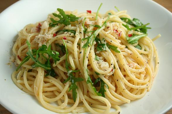 spaghetti-with-crab-and-chilli