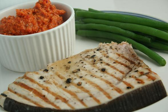 swordfish-with-salsa-romesco
