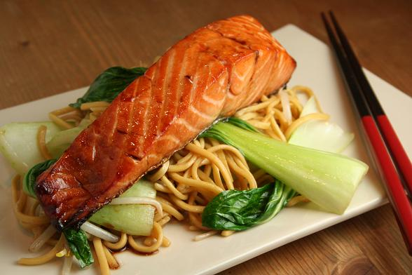 Teriyaki Salmon | Dinner Diary