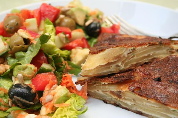 tortilla-and-salad