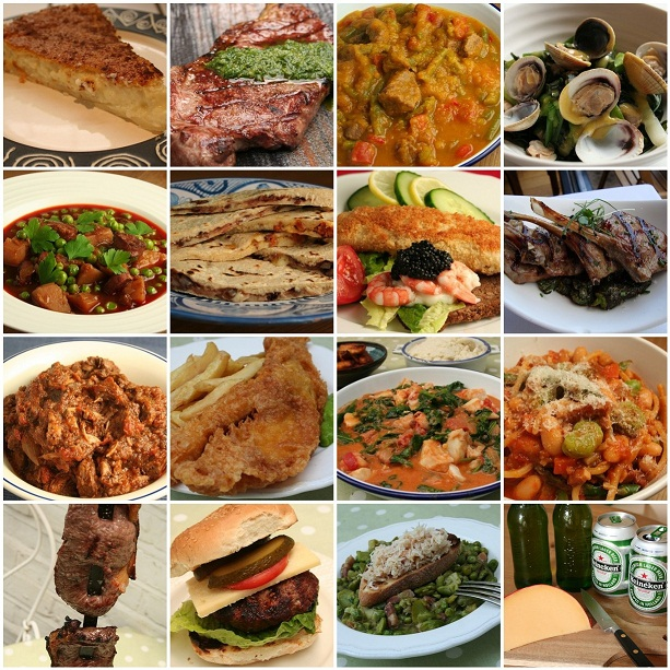 World cup cuisine the highlights dinner diary - Different types of cuisines in the world ...